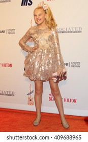 LAS VEGAS - APR 15:  JoJo Siwa at the  23rd Annual Race To Erase MS Gala at the Beverly Hilton Hotel on April 15, 2016 in Beverly Hills, CA