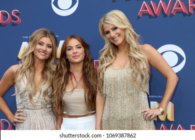 LAS VEGAS - APR 15:  Runaway June at the Academy of Country Music Awards 2018 at MGM Grand Garden Arena on April 15, 2018 in Las Vegas, NV