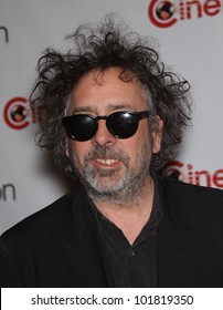 LAS VEGAS - APR 25:  TIM BURTON arrives for the Cinema Con 2012-Disney Luncheon  on April 25, 2012 in Las Vegas, NV
