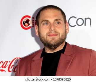 LAS VEGAS - APR 26:  Jonah Hill at the 2018 CinemaCon - Awards Gala at Caesars Palace on April 26, 2018 in Las Vegas, NV