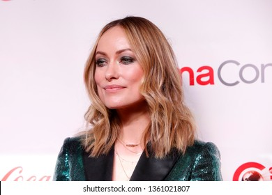 LAS VEGAS - APR 4:  Olivia Wilde at the 2019 CinemaCon Big Screen Achievement Awards at the Caesars Palace on April 4, 2019 in Las Vegas, NV