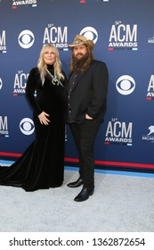LAS VEGAS - APR 7:  Morgane Stapleton, Chris Stapleton at the 54th Academy of Country Music Awards at the MGM Grand Garden Arena on April 7, 2019 in Las Vegas, NV