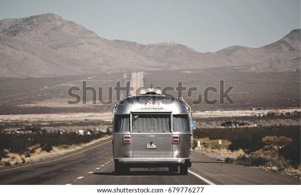 Las Vegas, California, USA, Airstream, seat: Jackson Center, Ohio, United State of America.