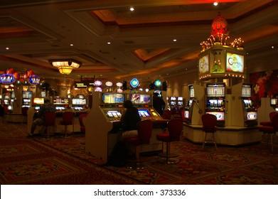 Las Vegas casino interior