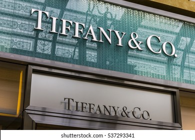 Las Vegas - Circa December 2016: Tiffany & Co. Retail Mall Location. Tiffany's is a Luxury Jewelry and Specialty Retailer, Headquartered in New York City IV