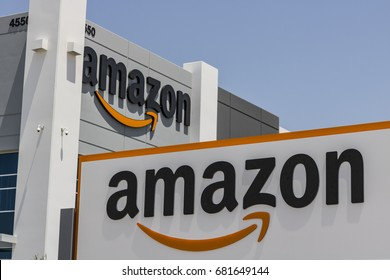 Las Vegas - Circa July 2017: Amazon.com Fulfillment Center. Amazon is the Largest Internet-Based Retailer in the United States II