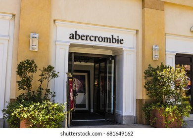 Las Vegas - Circa July 2017: Abercrombie & Fitch Clothing Store. Abercrombie & Fitch is a retailer that focuses on casual wear for young consumers II