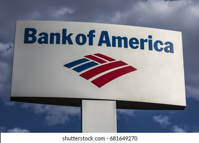 Las Vegas - Circa July 2017: Bank of America Bank and Loan Branch. Bank of America is a Banking and Financial Services Corporation VIII