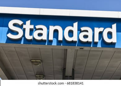 Las Vegas - Circa July 2017: Standard Oil Gasoline Station. The Standard name is a trademark of the Chevron Corporation V