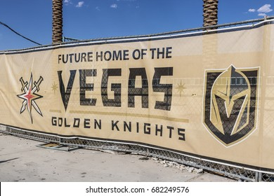 Las Vegas - Circa July 2017: Vegas Golden Knights new practice facility, The Knights are the latest NHL expansion team and will begin play in 2017 I