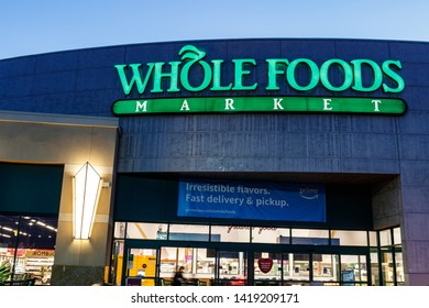 Las Vegas - Circa June 2019: Whole Foods Market. Despite Amazon's push for price cuts at Whole Foods, the chain remains the highest priced grocer II
