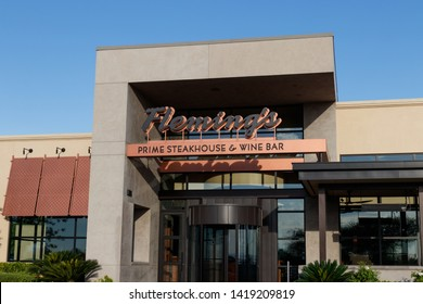 Las Vegas - Circa June 2019: Fleming's Prime Steakhouse and Wine Bar. Fleming's is a steakhouse restaurant chain owned by Bloomin' Brands I