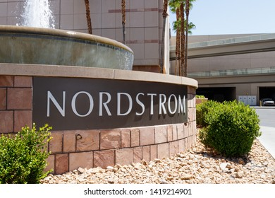 Las Vegas - Circa June 2019: Nordstrom Retail Mall Location. Nordstrom is Known for its Service and Fashion II