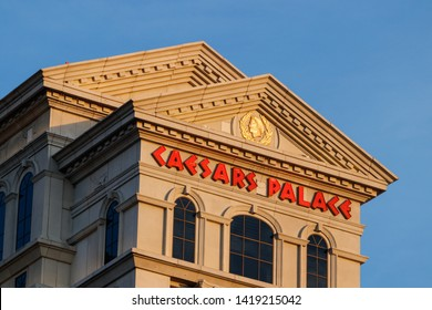 Las Vegas - Circa June 2019: Caesars Palace Hotel and Casino owned by Caesars Entertainment and one of the most iconic hotels on the strip I