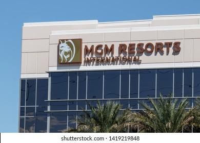 Las Vegas - Circa June 2019: MGM Resorts International office. MGM Resorts International is a global hospitality and entertainment company I