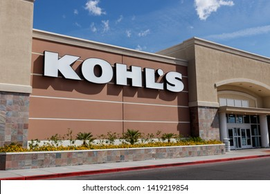 Las Vegas - Circa June 2019: Kohl's Retail Store Location. Kohl's is accepting Amazon returns free of charge II