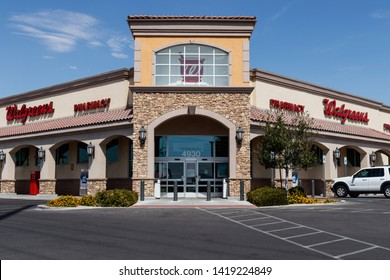 Las Vegas - Circa June 2019: Walgreens Retail Location. Walgreens has signed partnerships to collaborate on in-store health services VIII