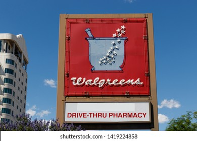 Las Vegas - Circa June 2019: Walgreens Retail Location. Walgreens has signed partnerships to collaborate on in-store health services VII