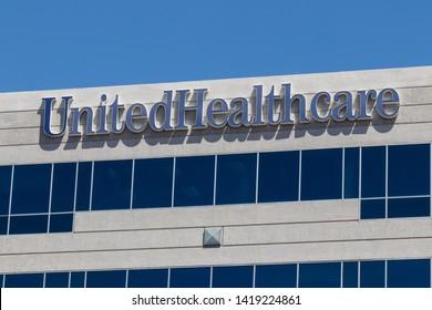 Las Vegas - Circa June 2019: UnitedHealthcare Nevada Office. UnitedHealth Group Provides Employer, Individual and Family Health Insurance I