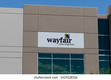 Las Vegas - Circa June 2019: Wayfair office. Wayfair is an e-commerce company that sells home goods online I