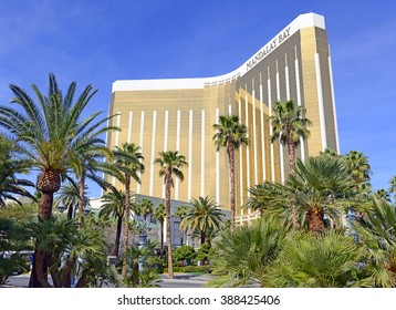 LAS VEGAS, CIRCA MARCH 2016. Despite many newer resort venues being built, both new and old Casinos reliably attract millions of visitors a year, with many gamblers hoping to hit the jackpot .