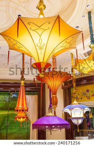 Las Vegas Dec 23 Parasol Down Stock Photo Edit Now 240171256