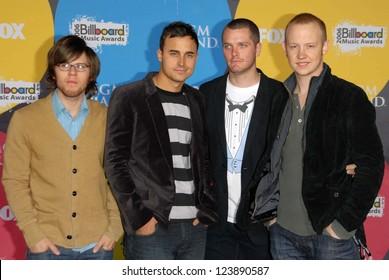 LAS VEGAS - DECEMBER 04: The Fray arriving at the 2006 Billboard Music Awards, MGM Grand Hotel December 04, 2006 in Las Vegas, NV
