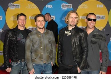 LAS VEGAS - DECEMBER 04: Nickelback arriving at the 2006 Billboard Music Awards, MGM Grand Hotel December 04, 2006 in Las Vegas, NV