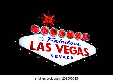 Las Vegas famous sign