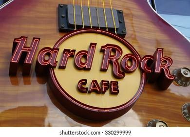 LAS VEGAS -  Hard Rock Cafe, as seen on Oct, 2015, in Las Vegas.