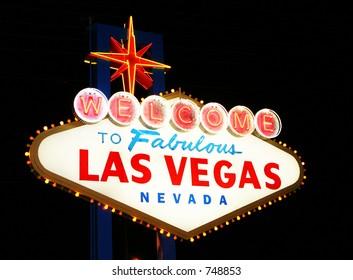 Las Vegas historic sign