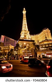 LAS VEGAS - JULY 13: Paris Las Vegas hotel and Casino featured with the theme of Paris in France on March 4, 2010 in Las Vegas, Nevada.