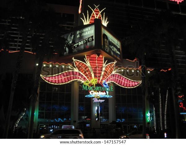 Mini Las Vegas >> Las Vegas July 9 Margaritaville Mini Stock Photo Edit Now