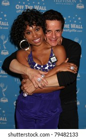 LAS VEGAS - JUN 18:  Angell Conwell, Christian LeBlanc at the Daytime Emmy Gifting Suite at Hilton Hotel on June 18, 2010 in Las Vegas, NV.