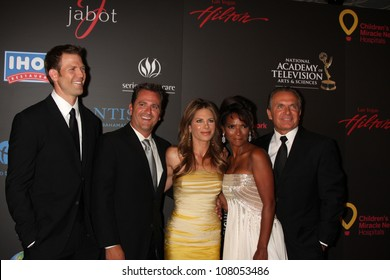LAS VEGAS - JUN 19:  The Doctor's Cast (including Jillian Michaels) arriving at the 38th Daytime Emmy Awards at Hilton Hotel & Casino on June 19, 2010 in Las Vegas, NV.