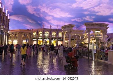 LAS VEGAS - JUNE 26: Caesars Palace on June 26, 2013  in Las Vegas. Celine Dion, Donny & Marie Osmond and Penn & Teller entertain IPW convention attendees on June 12, 2013.