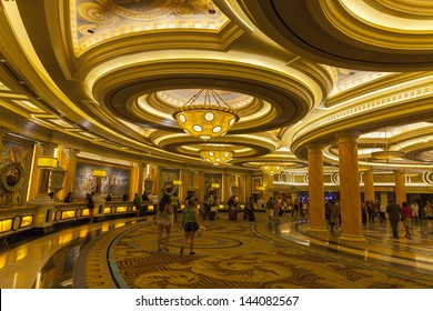 LAS VEGAS - JUNE 26: Caesars Palace on June 26, 2013  in Las Vegas. Caesars Entertainment employs over 70,000 people.