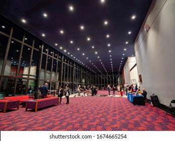 Las Vegas, MAR 8, 2020 - Interior view of the Artemus W. Ham Concert Hall in UNLV