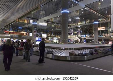 LAS VEGAS - MARCH 06: McCarren International Airport on March 06, 2013  in Las Vegas. Approximately 40 Million passengers pass through McCarren annually.