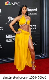 LAS VEGAS - MAY 1:  Cardi B at the 2019 Billboard Music Awards at MGM Grand Garden Arena on May 1, 2019 in Las Vegas, NV