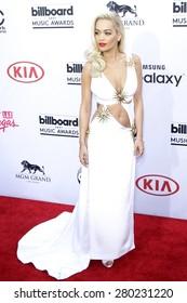 LAS VEGAS - MAY 17: Rita Ora at the 2015 Billboard Music Awards at the MGM Grand Garden Arena on May 17, 2015 in Las Vegas, Nevada.