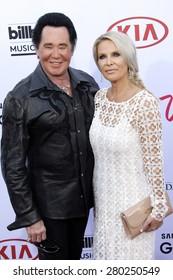 LAS VEGAS - MAY 17: Wayne Newton at the 2015 Billboard Music Awards at the MGM Grand Garden Arena on May 17, 2015 in Las Vegas, Nevada.