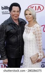 LAS VEGAS - MAY 17:  Wayne Newton at the Billboard Music Awards 2015 at the MGM Garden Arena on May 17, 2015 in Las Vegas, NV