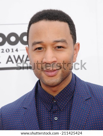 LAS VEGAS - MAY 18:  John Legend arrives to the Billboard Music Awards 2014  on May 18, 2014 in Las Vegas, NV.