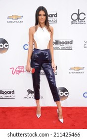 LAS VEGAS - MAY 18:  Kendall Jenner arrives to the Billboard Music Awards 2014  on May 18, 2014 in Las Vegas, NV.