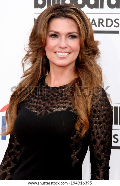 LAS VEGAS - MAY 18:  Shania Twain at the 2014 Billboard Awards at MGM Grand Garden Arena on May 18, 2014 in Las Vegas, NV