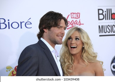 LAS VEGAS - MAY 20: Carrie Underwood, Mike Fisher at the 2012 Billboard Music Awards held at the MGM Grand Garden Arena on May 20, 2012 in Las Vegas, Nevada