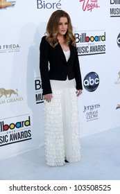 LAS VEGAS - MAY 20: Lisa Marie Presley at the 2012 Billboard Music Awards held at the MGM Grand Garden Arena on May 20, 2012 in Las Vegas, Nevada