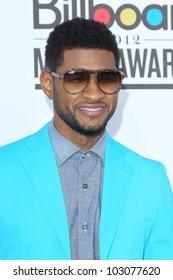 LAS VEGAS - MAY 20:  Usher arrives at the 2012 Billboard Awards at MGM Garden Arena on May 20, 2012 in Las Vegas, NV