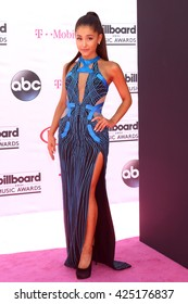 LAS VEGAS - MAY 22:  Ariana Grande at the Billboard Music Awards 2016 at the T-Mobile Arena on May 22, 2016 in Las Vegas, NV